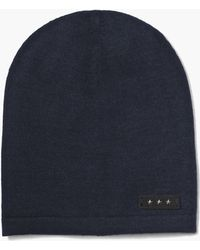 John Varvatos - Knit Slouch Hat - Lyst