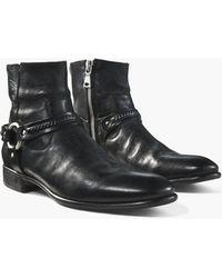 John Varvatos - Eldridge Harness Boot - Lyst