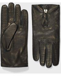 John Varvatos Nappa Leather Glove - Black