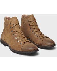 John Varvatos Portland Monkey Boot - Brown