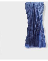 John Varvatos Ombre Scarf - Blue