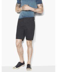 John Varvatos - Flat Front Shorts - Lyst