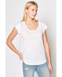 Joie - Neyo Linen T-shirt - Lyst