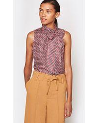 Joie Pascale Silk Top - Multicolour