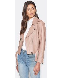 Joie Ondra Leather Jacket - Multicolour