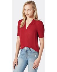 Joie Ance Silk Top - Red