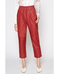 Joie - Araona Leather Trousers - Lyst