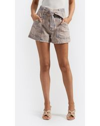 Joie Edana Cotton Shorts - Multicolour