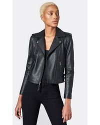 Joie Leolani Leather Jacket - Black