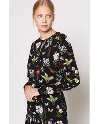 Joie - Liseli Floral Long-sleeve Keyhole Top - Lyst