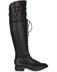Joie - Gryffin Combat Over-the-knee Boot - Lyst
