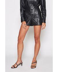 Joie - Nirel Leather Shorts - Lyst