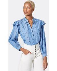 Joie Idonia Cotton Top - Blue
