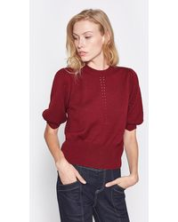 Joie Kollyn Wool & Silk Sweater - Red