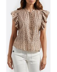 Joie Gabriana Top - Brown