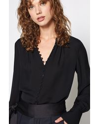Joie Tariana Silk Top - Black