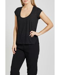 Joie Evalina Linen Top - Black