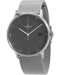 Junghans Form Mega Radio-controlled Grey Dial Mens Watch
