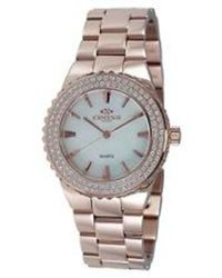 Oniss Magnifico White Dial Rose Gold Tone Stainless Steel Ladies Watch -lrg/w/wt-c - Metallic