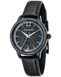 Thomas Earnshaw Lady Kew Automatic Black Dial Ladi Watch -8064-03