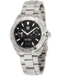 Tag Heuer Aquaracer Black Dial Mens Watch - Metallic