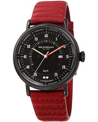 Bruno Magli Alex 1361 Quartz Black Dial Mens Watch