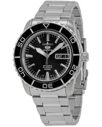 Seiko Fifty Five Fathoms Automatic Black Dial Mens Watch - Multicolour