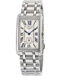 Longines Dolcevita Silver Dial Stainless Steel Ladies Watch - Metallic