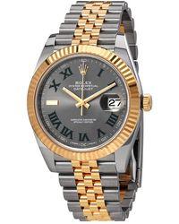 Rolex Datejust 41 Automatic Chronometer Mens Watch - Metallic