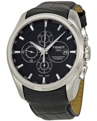 Tissot Couturier Automatic Chronograph Mens Watch - Metallic