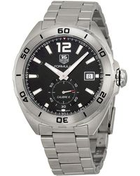 Tag Heuer Pre-owned Formula 1 Automatic Black Dial Mens Watch - Metallic