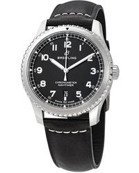 Breitling - Navitimer 8 Automatic Chronometer Black Dial Mens Watch - Lyst