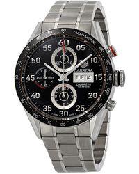 "Tag Heuer ""carrera"" Bracelet Watch - Metallic"