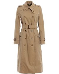 Burberry Long Chelsea Heritage Slim-fit Trench Coat, Brand - Yellow