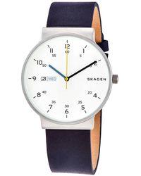 Skagen Open Box - Ancher Quartz White Dial Watch