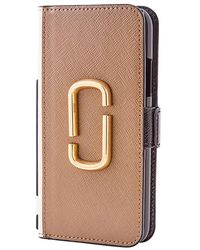 Marc Jacobs The Snapshot Iphone X/xs Case - Gray