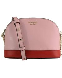 Kate Spade Ladies Spencer Small Dome Leather Crossbody - Multicolor