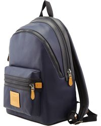 COACH Academy Backpack In Colorblock - Blue