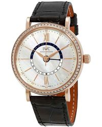 Iwc Portofino Day And Night Automatic Mother Of Pearl Dial Ladies Watch 4591-02 - Multicolor