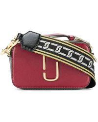 Marc Jacobs Snapshot Red / Grey The Snapshot Camera Bag