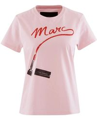 Marc Jacobs Ladies The St. Mark's T-shirt In Light Pink