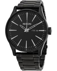 Nixon Porter Quartz Black Dial Mens Watch