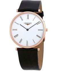 Longines La Grande Classique Automatic White Dial Ladies Watch - Metallic