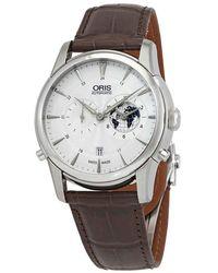 Oris Artelier Greenwich Mean Time Automatic Mens Watch 690-7690-4081ls2