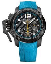 Graham Chronofighter Superlight Carbon Chronograph Automatic Black Dial Mens Watch