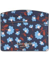 Kate Spade - Ladies Spencer Party Floral Card Holder - Lyst