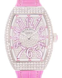 Franck Muller anguard Automatic Diamond Unisex Watch  32 Sc At Fo D Cd (og.rs) - Pink