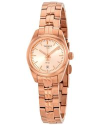 Tissot T-classic Rose Rose Gold Pvd Dial Ladies Watch T1010103345100 - Pink