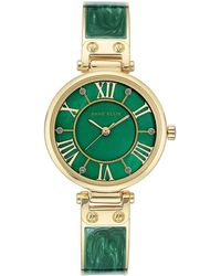 Anne Klein Trend Quartz Green Mother Of Pearl Dial Watch