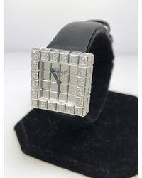 Chopard Ice Cube Mirror Dial Square Ladies Quartz Watch -1001 - Metallic